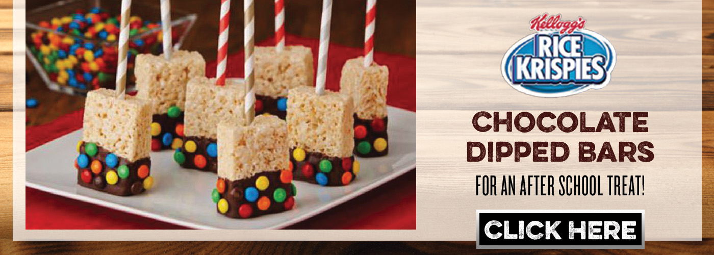 Kellogg Rice Krispies Treats Chocolate Dipped Bars
