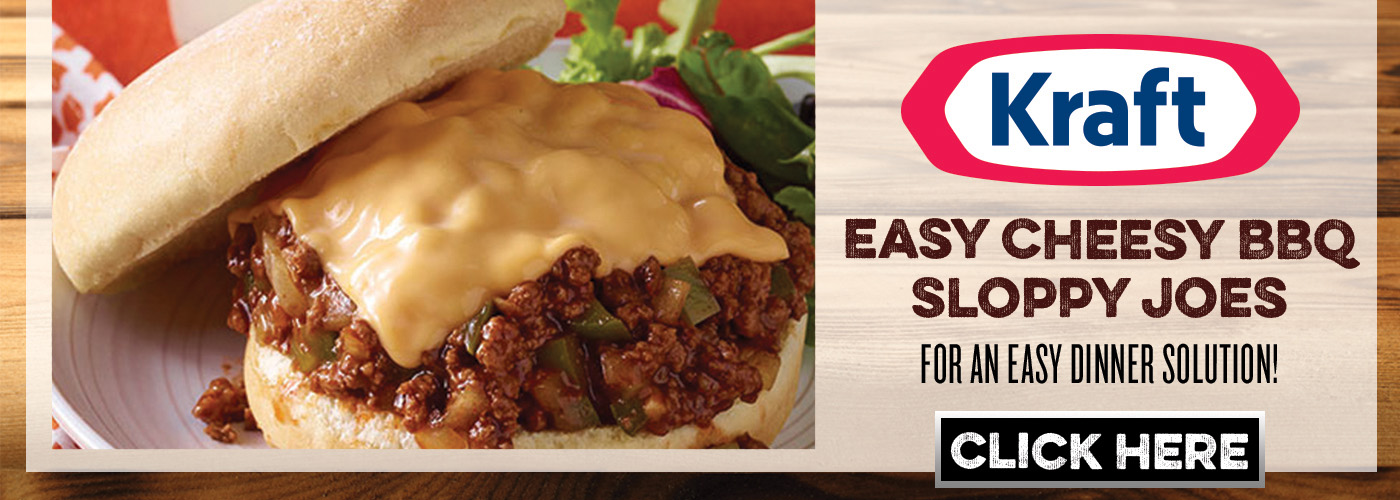 KraftHeinz Easy Cheesy BBQ Sloppy Joes