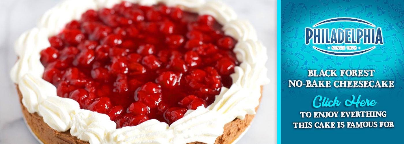 KraftHeinz — Black Forrest no-bake Cheesecake