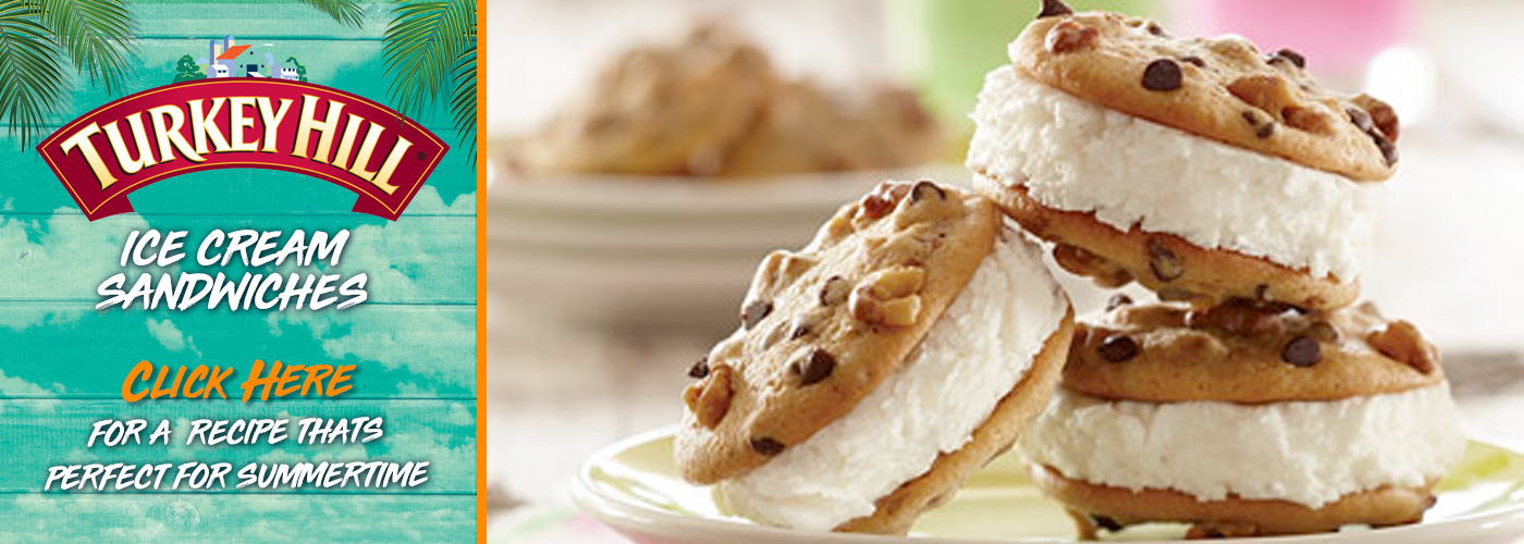 Turkey Hill—Ice Cream Sandwich Recipe
